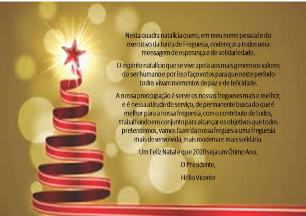 Mensagem de Boas Festas